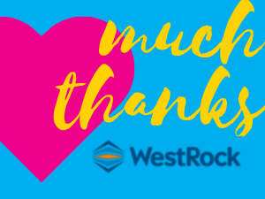 Thank You WestRock for a Decade of Support!