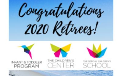 Congrats 2020 Retirees!