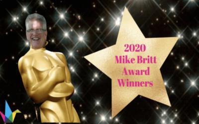 2020 Mike Britt Awardees