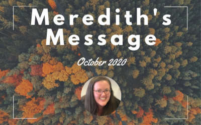 Meredith's Message – October